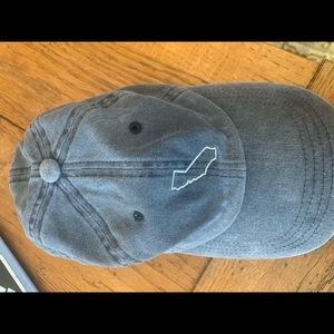 Jean colored California state hat